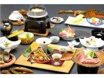 ≪料理長おすすめ≫全11品!旬の食材+飛騨牛を盛り込んだ和食会席プラン