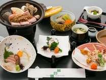 ◆お手頃に旅行を愉しむ◆飛騨産豚をつかった和食ミニ会席1泊2食付プラン