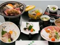 ◆お手ごろに旅行を愉しむ◆和牛陶板付の和食ミニ会席1泊2食付プラン