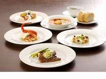 シェフ自慢季節のお料理ディナー(イメージ)