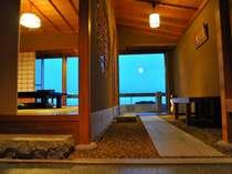 【じゃらん限定】3F数寄屋造りの和室から阿蘇山を望む★熊本名物『馬刺し』と貸切風呂50分の特典付♪
