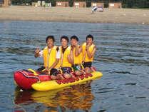 夏はやっぱり海!バナナボートで夏のアウトドアを満喫!