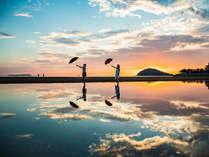 【父母ヶ浜】当館から車で13分!香川の「ウユニ塩湖」です
