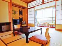 【和室8畳】基準客室 白樺ホテルは全室阿多野谷向きで裏部屋ナシ!