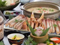 【大鍋カニすき付き蟹懐石】旨みたっぷりのかに鍋を大鍋でご用意★
