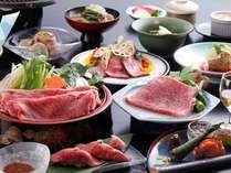 【飛騨牛づくし満足プラン】大満足の飛騨牛料理をどうぞ(一例)