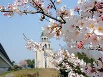 【 お花見とフレンチで春旅満喫プラン/満開のソメイヨシノをどうぞ♪ 】