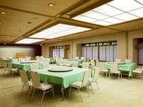 団体でのお食事は宴会場もご利用可能です(10名様~100名様まで個室でご利用可能です)