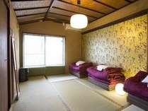 ☆デラックスツイン☆ゆったり広さのお部屋でのんびり。インターナショナルな雰囲気を堪能!