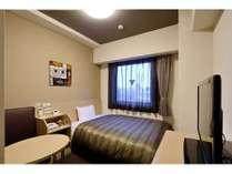 スタンダードシングルルーム★ベッドサイズ130×196cm