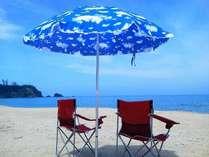 夏の琴が浜海水浴場ホテルから車で約10分♪泣き砂としても有名な海水浴場です♪