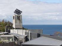 ビューサンセットのシンボル、給水塔。