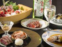 【極み会席:和洋】フレンチ、和食それぞれのシェフが織りなすビューサンセットスペシャルディナー!