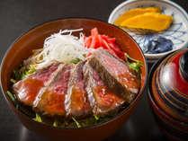 ブランド牛「能登牛」のステーキ丼!!がっつりお肉を堪能したい方におすすめ!
