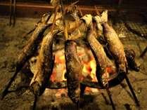 岩魚は、古代より居着いたとても貴重な食材。取れる数も限られますが、脂も多く香ばしい。