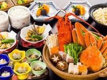 【12月~1月限定】イセエビ&ズワイ蟹が楽しめるお鍋とコラーゲンたっぷりのウツボ料理「海鮮冬鍋御膳」