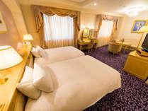 ◆エグゼクティブツイン(エグゼクティブウイング/43.9平米)◆120センチのベッドが2台