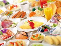 ≪ご朝食≫和洋メニューに地元高知料理など約50種類、目の前でシェフが卵料理もお作りします。