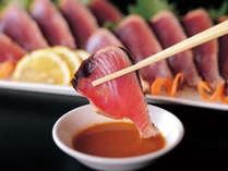 ≪カツオのタタキ≫高知名物カツオのたたき!朝から食べられます!