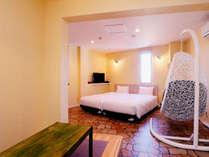 **302 コンパクトなお部屋に外浦の海が一望できるテラス付きのお部屋です