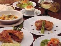 [写真]ある日の夕食洋食メニュー