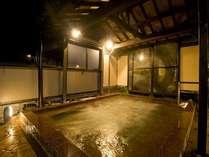 露天風呂湯乃禅・・・水車風呂