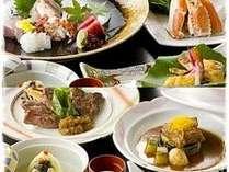 お魚系かお肉系か中心となる料理が選べるので食事の会話が弾みます。