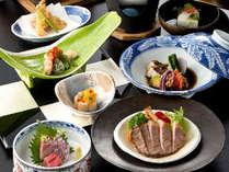 ●春のお肉三種会席●料理長が厳選した<牛・豚・鶏>のお肉をこの季節にぴったりの料理に仕上げました。