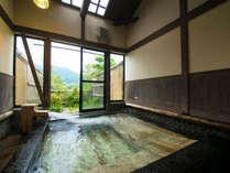 ◆貸切家族風呂・石と寝風呂「わらび」◆