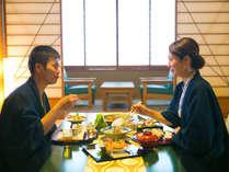"""◆お部屋食で周りの目を気にせずに """" くつろぎの時間 """" ◆"""