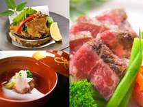 """◆今宵限りの贅会席◆厳選した""""旬の食材""""と当館料理長の""""技""""の競演"""