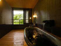 館内には計7つの貸切風呂を配し、それぞれが異なる趣向をこさえております