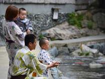 【夏休み期間限定】『犬鳴川』で川遊びに魚釣り!釣ったお魚は夕食時にお召し上がり