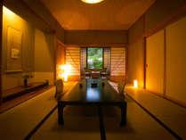 ◆バス付き和室(10~12帖)‐白木館客室‐