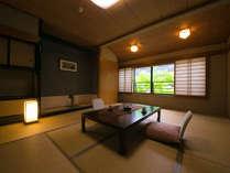 ◆バスなし和室(10~15帖)‐湯原館客室‐