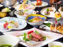 ★【グレードUP会席】メインは『和牛ステーキ』料理長が「おいしい」にこだわった ~地産の美味食~