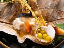 ◆料理一例◆旬な食材を使った色とりどりのお食事を、目で見て愉しむ