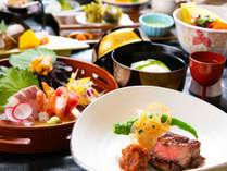 ◆グレードアップ会席◆新鮮な地元食材を使用した、『上質な四季の美味』を満喫