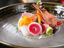 ◆料理一例◆自然溢れる中で新鮮な海の幸を味わえるのが当館の自慢!