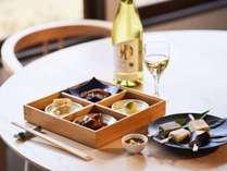 【かみのやまワインと美食を愉しむ】かみのやま温泉は地ワインも有名。地産食材との相性も抜群。