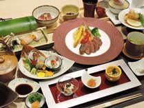 *【たくみ会席】岡山県のブランド千屋牛をはじめ、岡山県内の食材を贅沢に使用しています(一例)