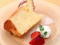 ドルチェ 小坪の塩シフォンケーキ