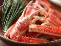 ◆活松葉蟹を半丁使用◆当館定番のかに三昧会席『基本』