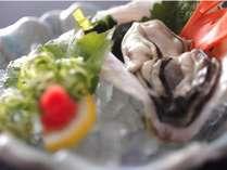 ◆期間限定◆プリ・トロ~っとした食感が◎旬の岩ガキを食す