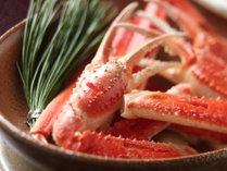 山陰の冬はやっぱりこれ!新鮮な松葉蟹をご堪能ください!(写真はイメージです。)