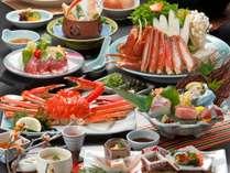 ◆茹で蟹一枚◆お手頃にカニを楽しむ『かに御膳スタンダード』