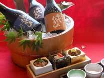 鳥取県境港の吟醸蔵『 千代むすび酒造 純米酒 』の飲み比べセット付き★かに御膳スタンダード★