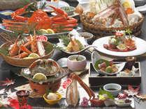 蟹御膳グレードアップ2018