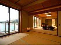 20畳ある大きな和室にゆったり宿泊