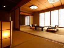 落ち着きのある広い畳のお部屋
